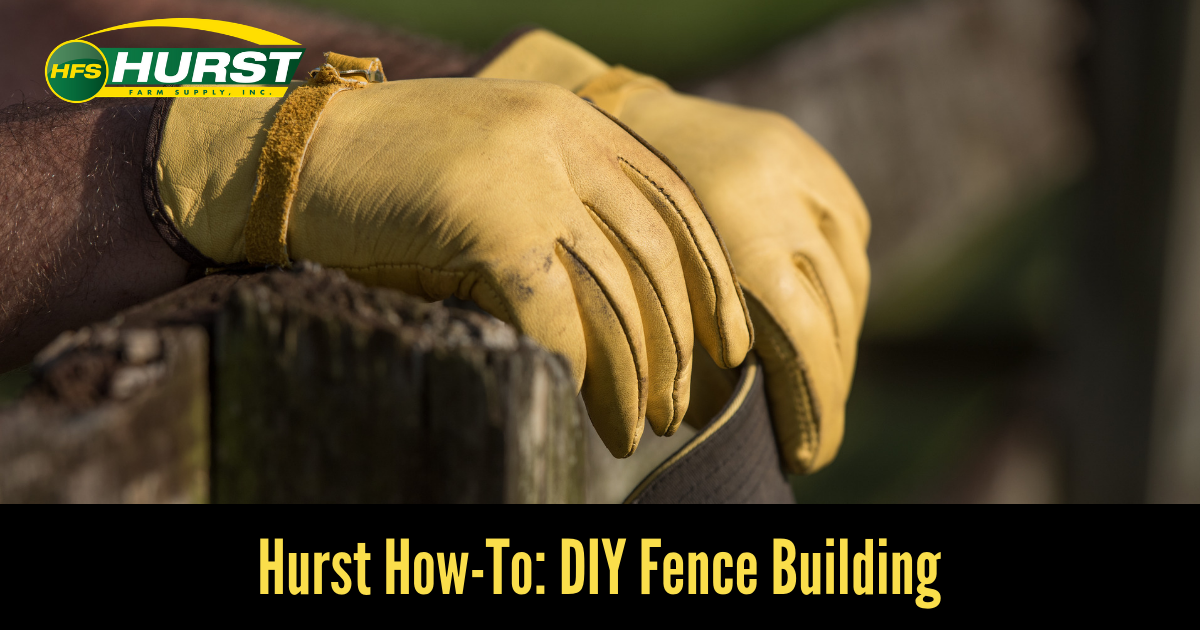 Hurst How To: DIY Fence Building