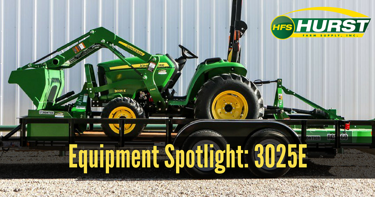 Equipment Spotlight: John Deere 3025E