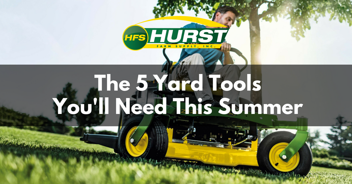 The 5 Yard Tools You'll Need This Summer
