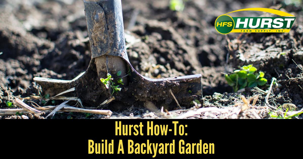 Hurst How To: Build a Backyard Garden