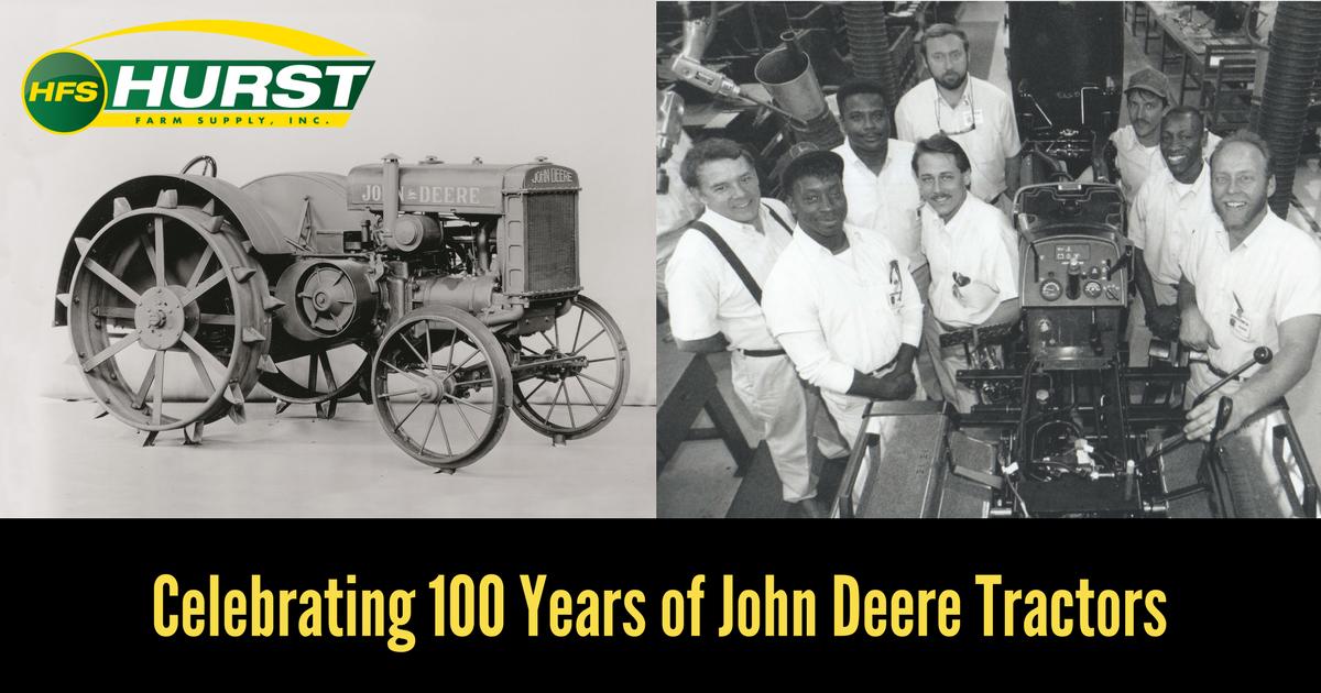 Celebrating 100 Years of John Deere Tractors
