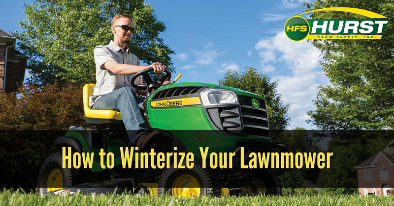 How to Winterize Your Lawnmower