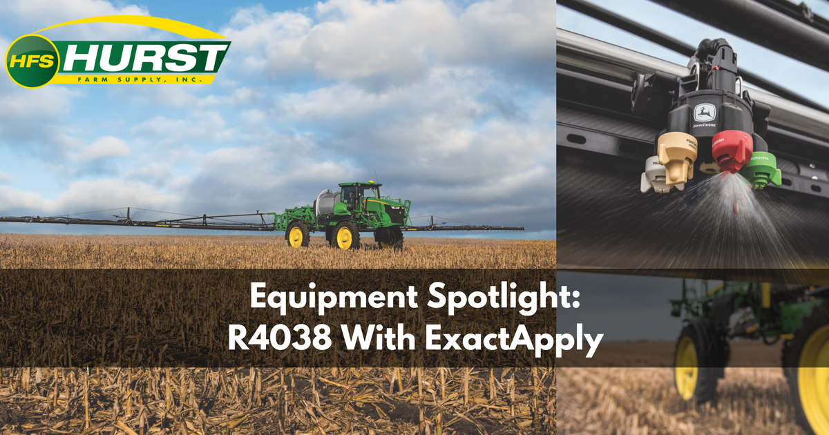 Equipment Spotlight: R4038 With ExactApply