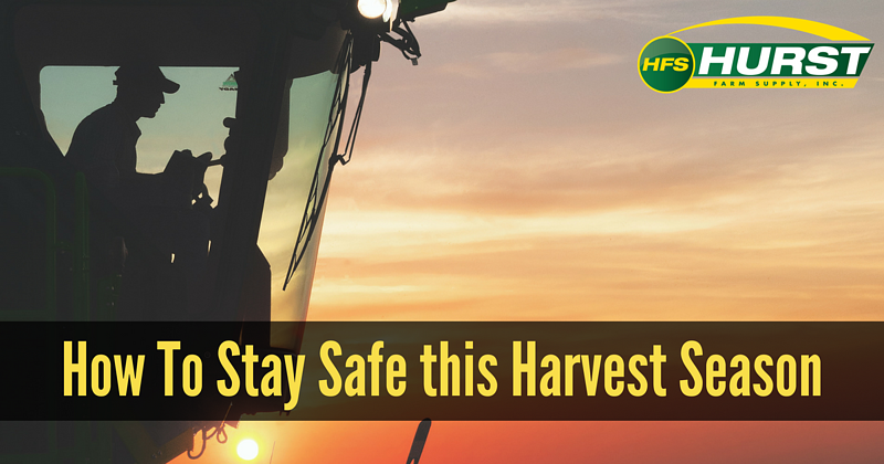How To Stay Safe This Harvest Season