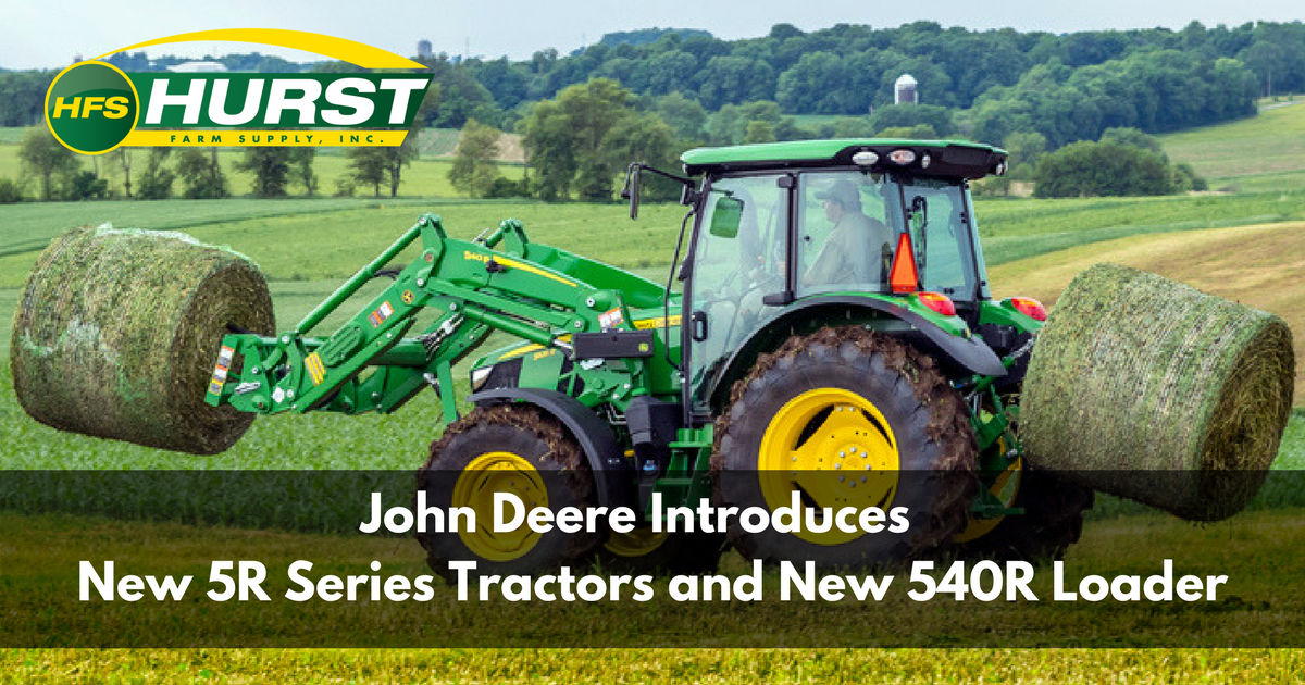 John Deere Introduces New 5R Series Tractors and New 540 Loader