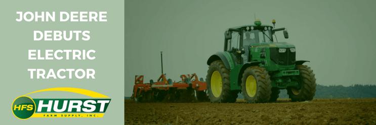 John Deere Debuts Electric Tractor