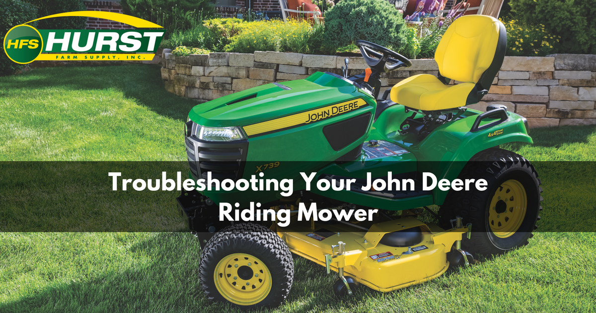 Troubleshooting Your John Deere Riding Mower