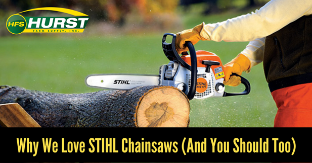Why We Love STIHL Chainsaws (And You Should Too)