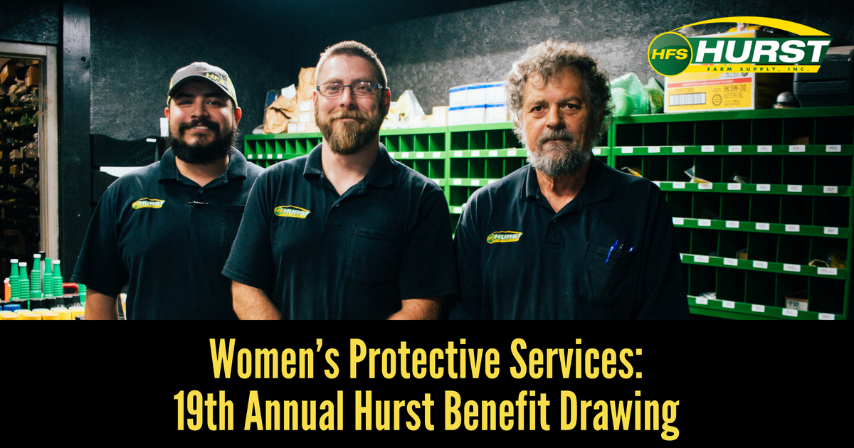 Women's Protective Services: 19th Annual Hurst Benefit Drawing