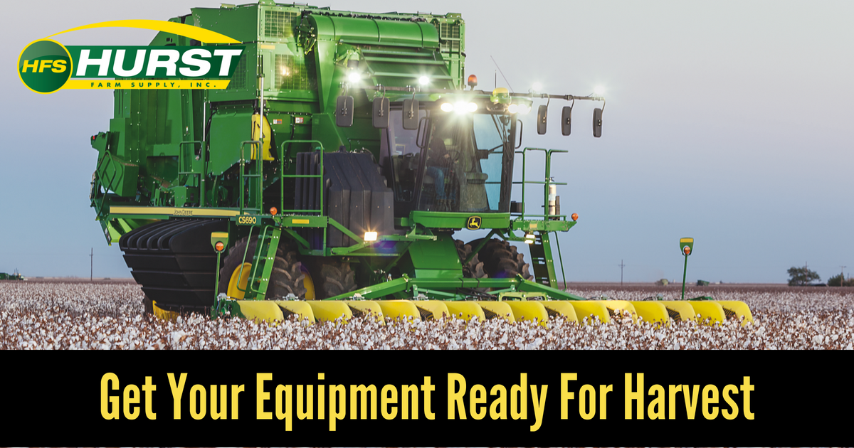Get Your Equipment Ready for Harvest