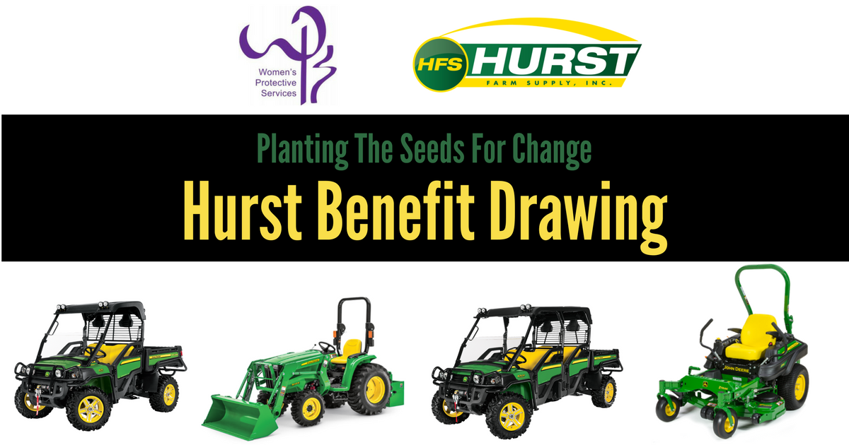 Women's Protective Services: 18t Annual Hurst Benefit Drawing