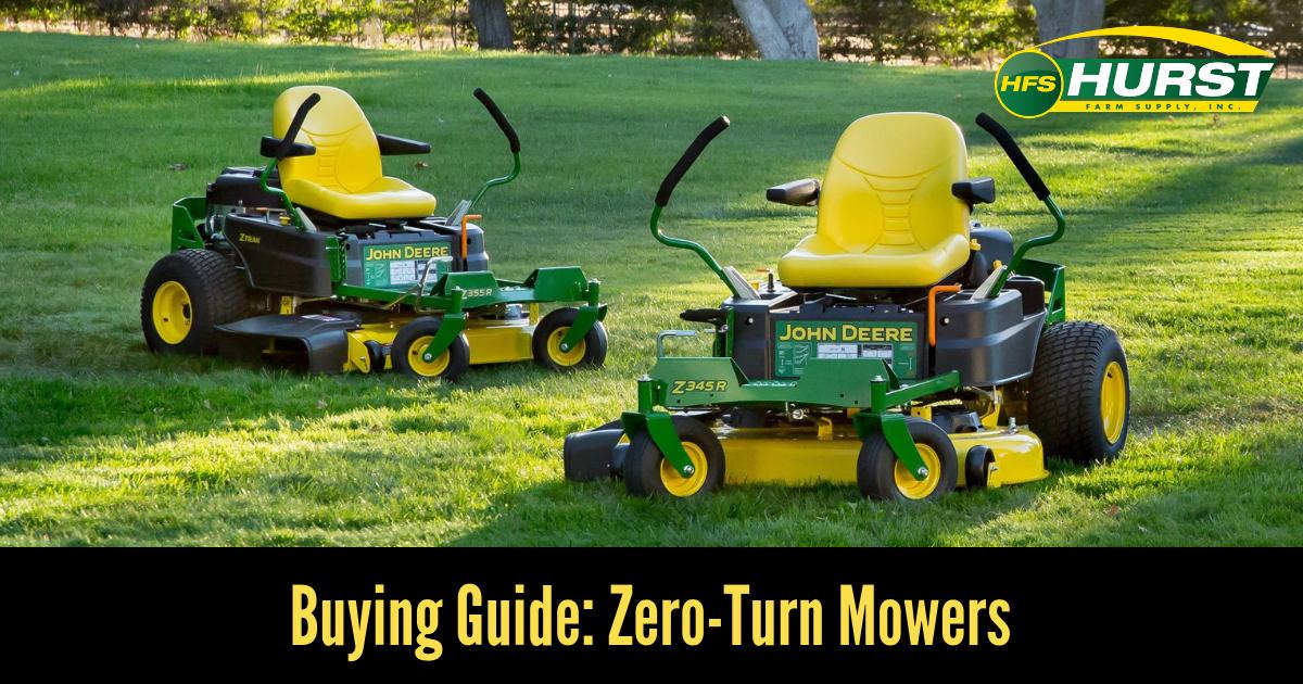 Buying Guide: Zero-Turn Mowers
